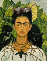 Self-portrait: Frida Kahlo