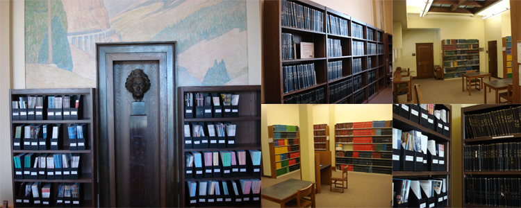 Images of the Reading Room