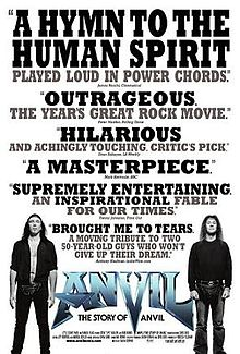 Anvil: The Story of Anvil movie poster
