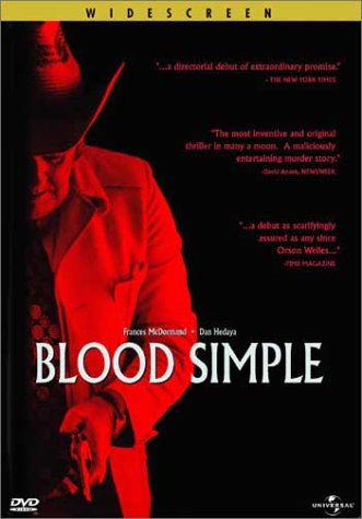 Blood Simple DVD cover