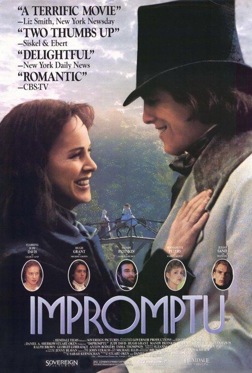 Impromptu movie poster