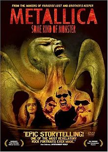Metallica Some Kind of Monster DVD cover