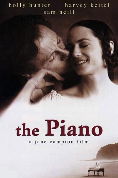 The Piano DVD cover