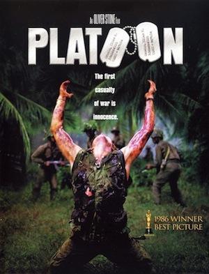 Platoon DVD cover