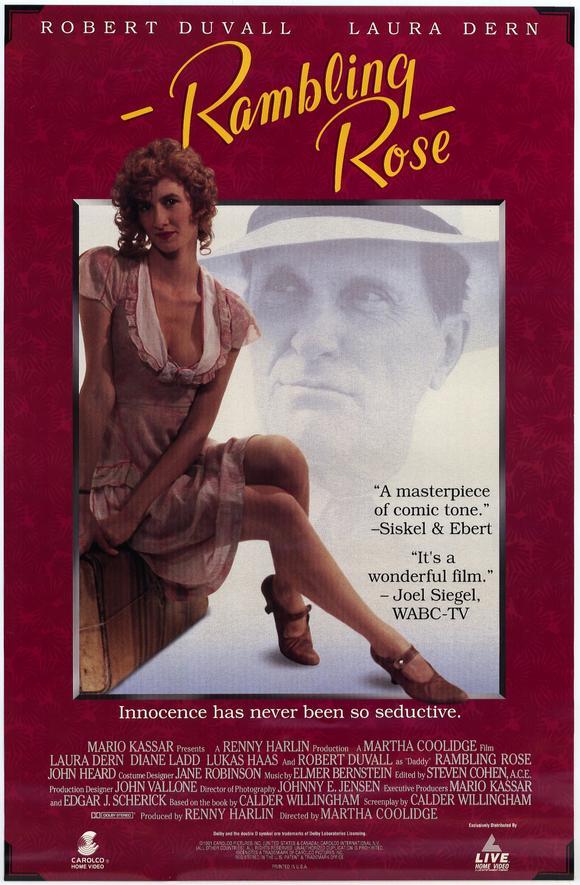Rambling Rose movie poster