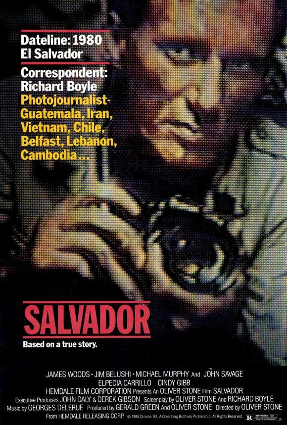 Salvador movie poster
