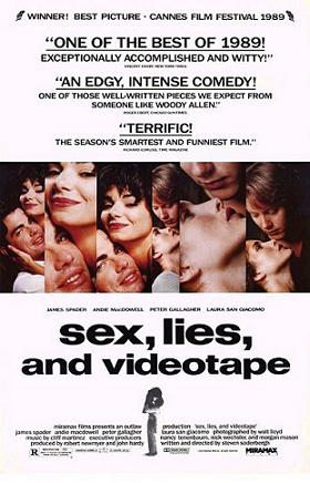 Sex, Lies and Videotape movie poster
