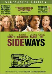 Sideways DVD cover