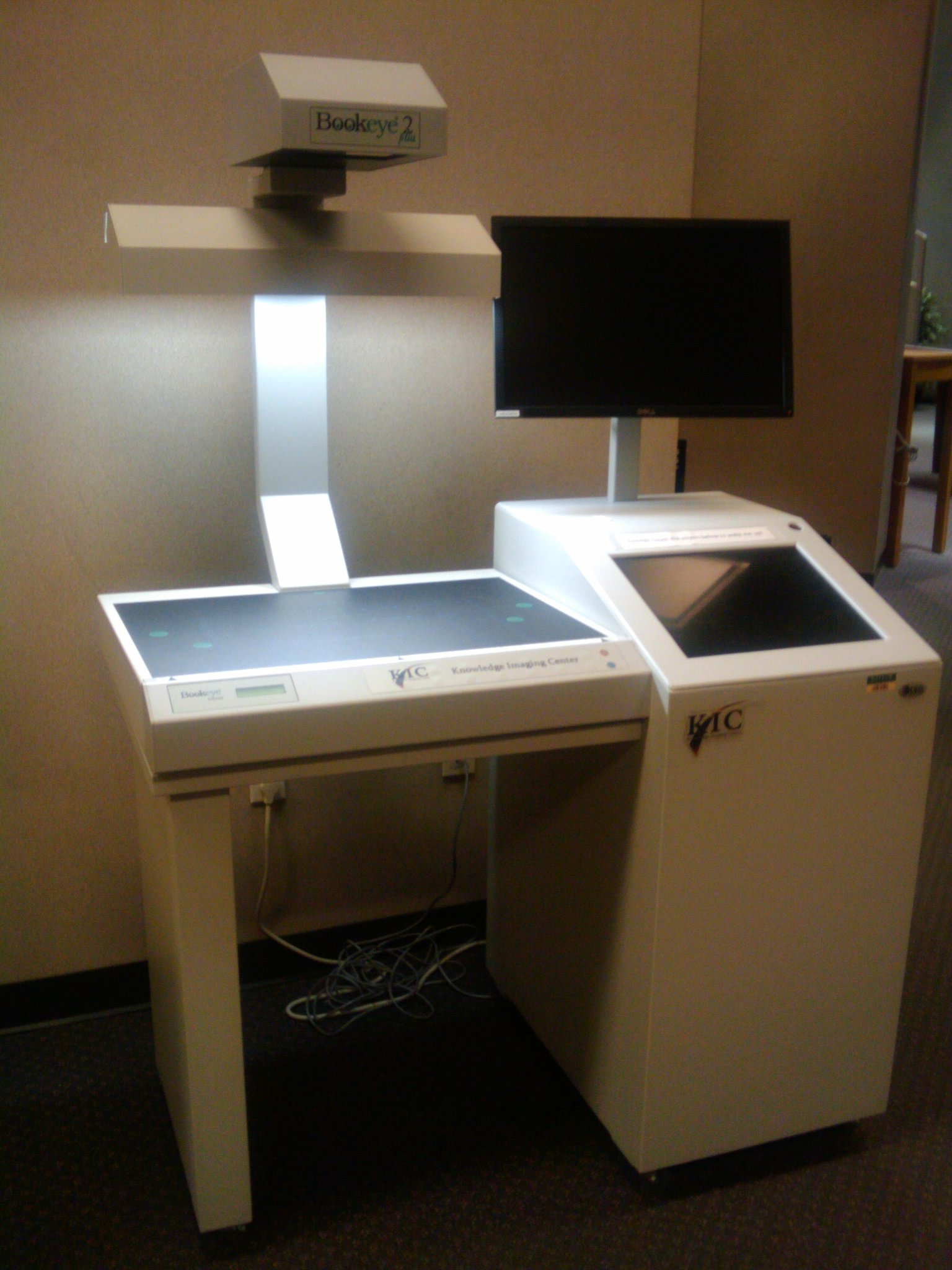 Library KIC Scanner