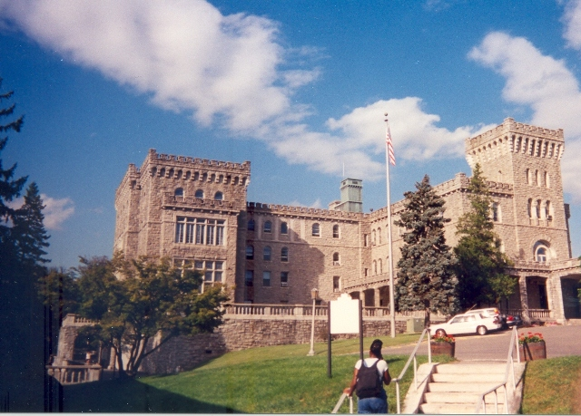 Reid Castle Image courtesy of Manhattanville College Special Collections