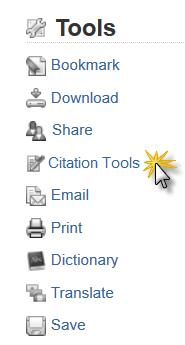 Cite Tool