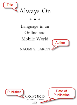 Image of book with publication information, click to see full sizem