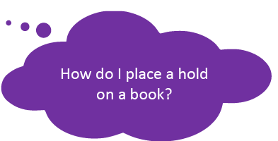 How do I place holds on a book?