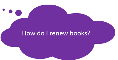 How do I renew books?