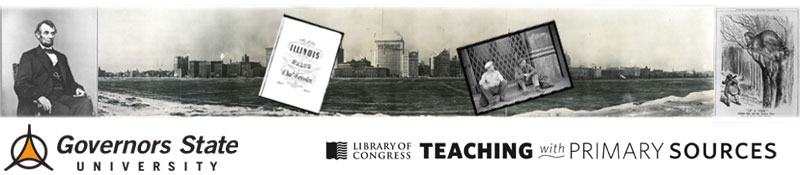 Teaching with primary sources organizers
