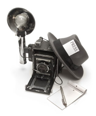 1920s Era Press Photographer's Kit