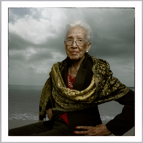 Katherine Johnson photo by Annie Leibovitz