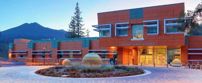 Picture of College of Marin's Science, Math, Nursing Building