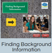 Tutorial: Finding Background Information