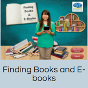 Tutorial: Finding Books and E-Books