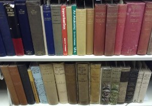 T.E. Lawrence book collection