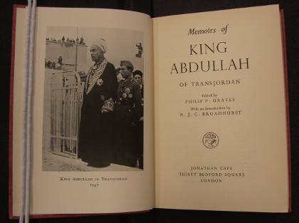Memoirs of King Abdullah