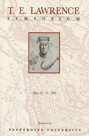 T.E. Lawrence Symposium Brochure