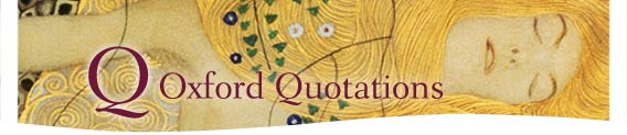 Oxford Quotations