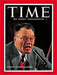 Ray Jenkins on the cover of Time Magazine