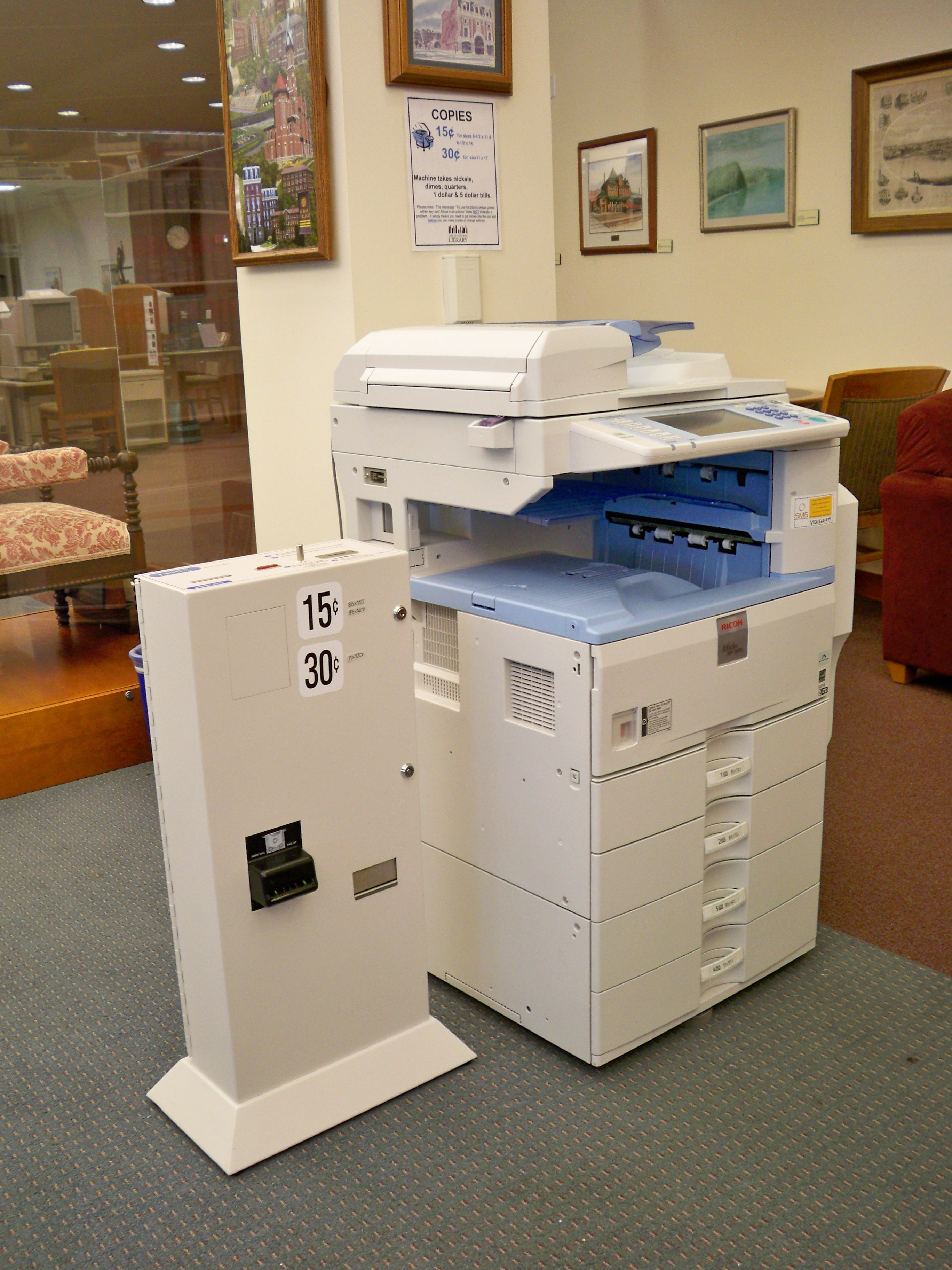 picture of public copier