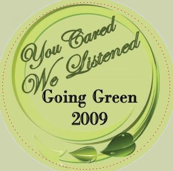 Going Green Pin