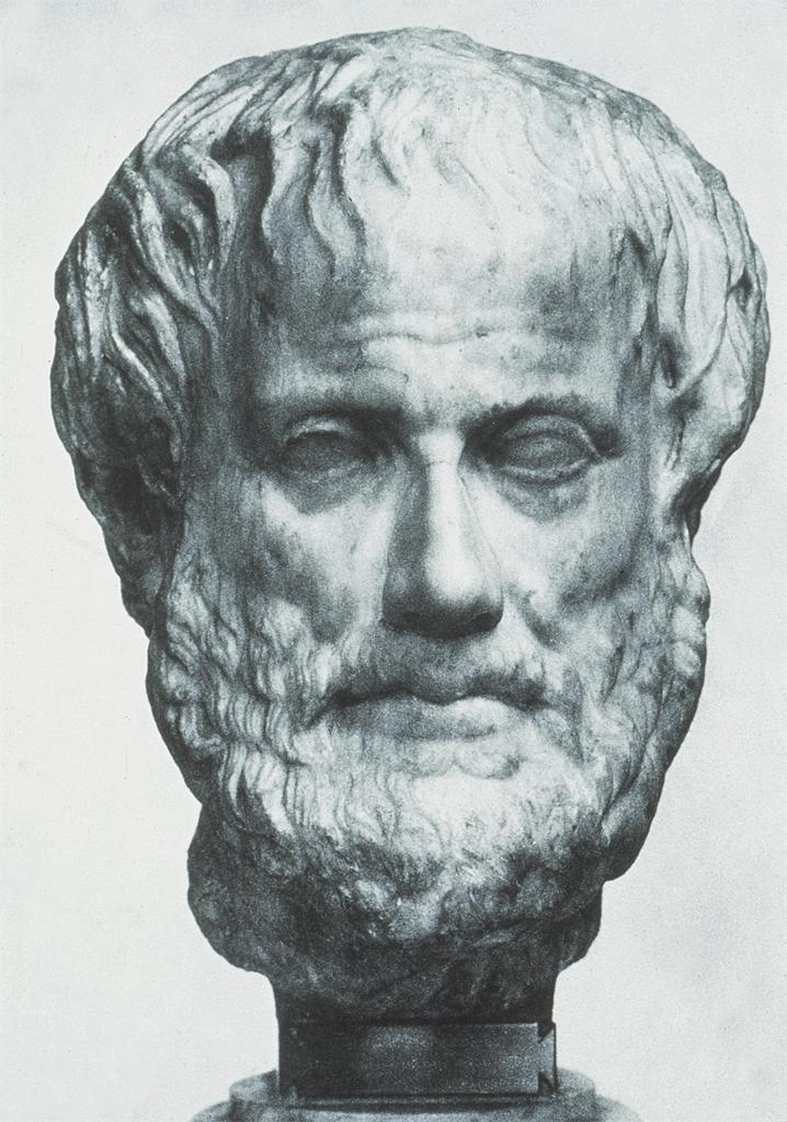 Portrait statue of Aristotle