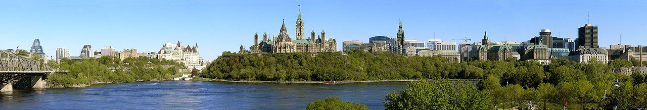 """Canada Ottawa Panorama"" by G. Baranski - Own work. Licensed under CC BY-SA 3.0 via Wikimedia Commons - https://commons.wikimedia.org/wiki/File:Canada_Ottawa_Panorama.jpg#/media/File:Canada_Ottawa_Panorama.jpg"