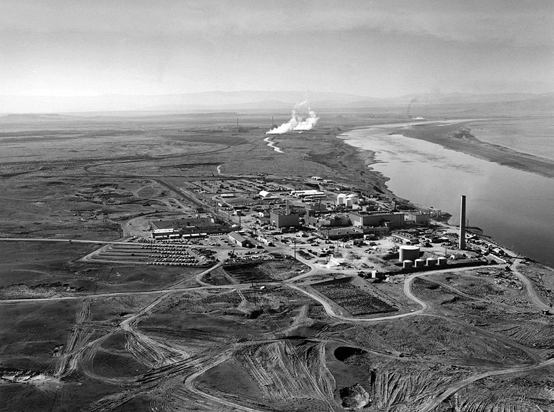 Photo of the Hanford Nuclear Reactor
