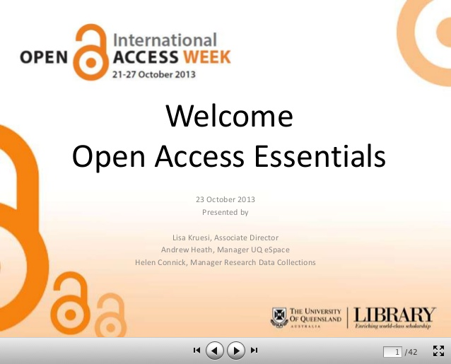 Open Access Essentials