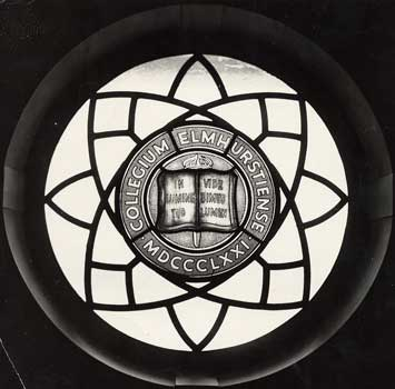 Stained Glass Window in Dinkmeyer Hall