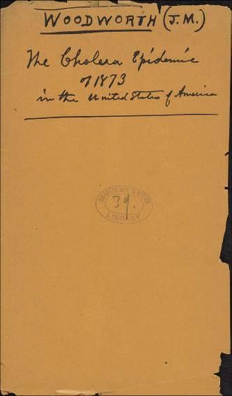 The Cholera Epidemic of 1873