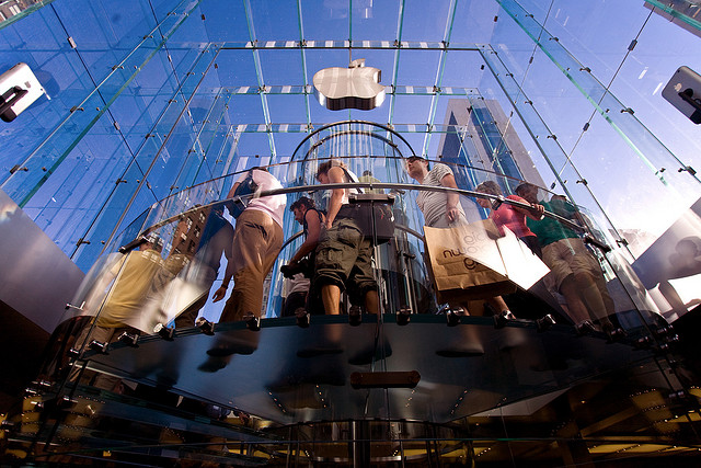 Apple Retail Store, NYC (#28896) by Mark Sebastian