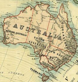 map australia