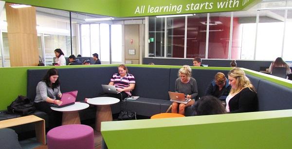 The Hub at Dixson Library