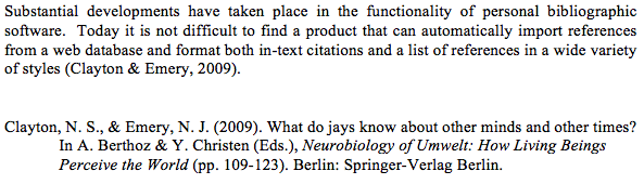 Example of Citation