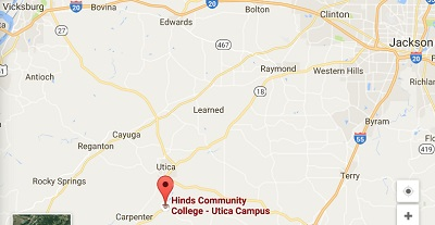 map to Utica campus