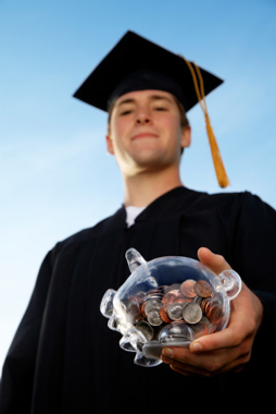 image of student graduate