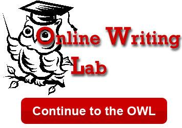 Online Writing Lab logo