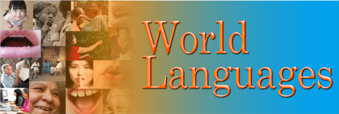 picture collage of world languages