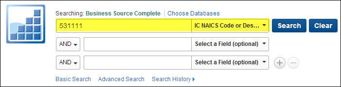 NAICS Limiter