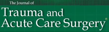 Journal of Trauma and Acute Care Surgery