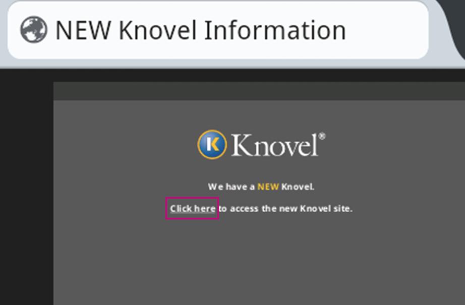 New Knovel info page