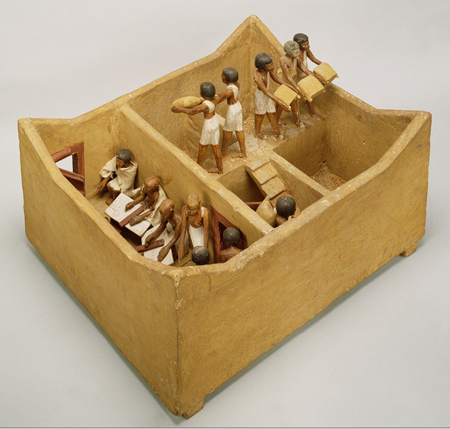 Scribes from Meketre's Model Granary