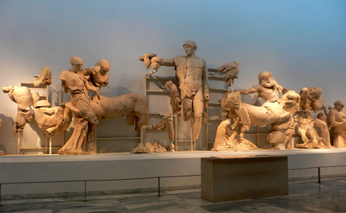 West Pediment, Temple of Zeus at Olympia
